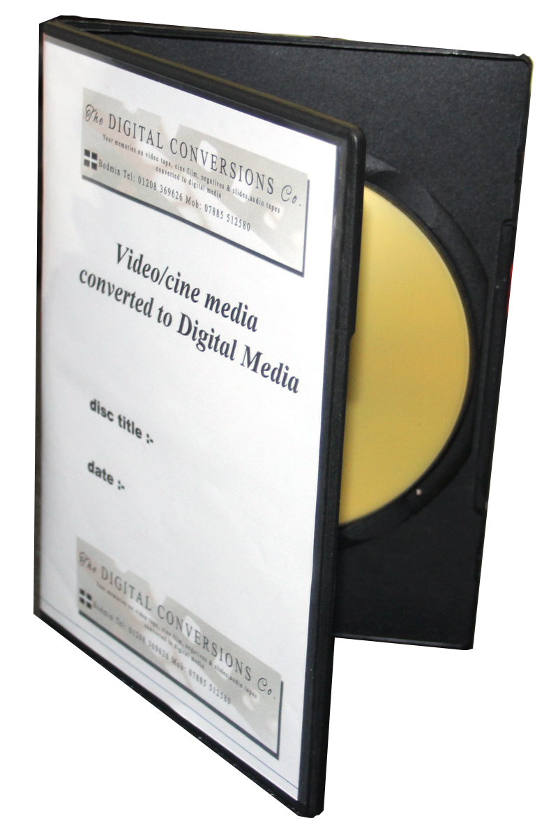 The Digital Conversions Co. DVD cases